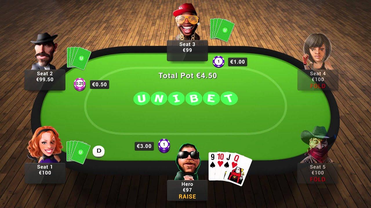 Poker according to everyone's needs