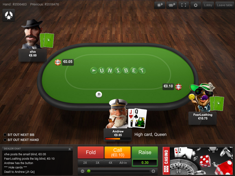 Unibet: Extremely high poker tournaments